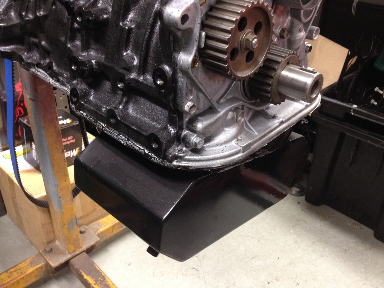 3SGTE race oil pans,baffled,7 litre  NOTE we require your sump to build  from
