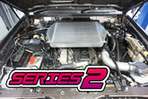 NISSAN PATROL GU TD42 TOP MOUNT INTERCOOLER KIT '03-'07