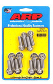 ARP stainless intake bolts suit S/B Chev 434-2101