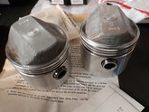 Ironhead Forged TRW +30 piston and ring kit