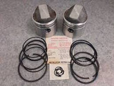 Ironhead 900cc TRW forged piston kit +20