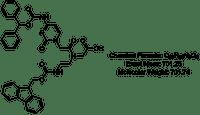 Fmoc-PNA-C(Bhoc)-aeg-OH monomer chemical structure