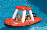 Inflatable Fire Boat Ride-On Squirter