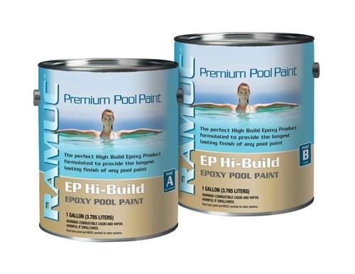 Ramuc Ep Hi Build Epoxy Pool Paint 2 Gallon Kit Pool