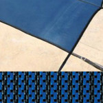 14x28 Rectangle Solid Safety Cover Blue King Solid 20 Year