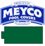 Meyco Rectangle with Center End Steps Safety Pool Cover