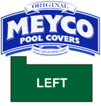 Meyco Rectangle with Flush Left Steps Safety Pool Cover