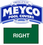 Meyco Rectangle with Flush Right Steps Safety Pool Cover