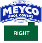 Meyco Rectangle with Offset Right Steps Safety Pool Cover