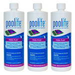 Poolife Pool Plus 1 qt - Pack of 3