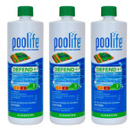 POOLIFE Defend+ Pool Algaecide 32 oz - 3 Pack
