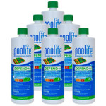 POOLIFE Defend+ Pool Algaecide 32 oz - 6 Pack