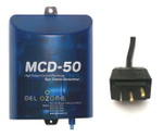 DEL Ozone MCD-50 Spa Generator 1,000 Gallons 120V-240V Mini Light Cord