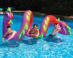 Swimline Two Headed Curly Serpent