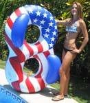 Swimline American Flag Lounger