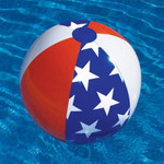 "Swimline Americana 24"" Beach Ball"