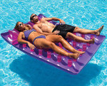 "Swimline 78"" Double Mat Floating Lounge"