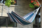 Vivere Brazilian Style Single Hammock - Denim