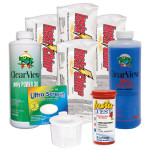 Swimming Pool Chemical Start-Up Kit Gold - 20,000 Gallons