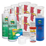 Swimming Pool Chemical Start-Up Kit Platinum - 30,000 Gallons