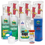 Swimming Pool Chemical Start-Up Kit Diamond - 30,000 Gallons