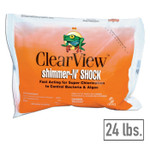 ClearView Shimmer-n-Shock Chlorinated Pool Shock 24 lbs