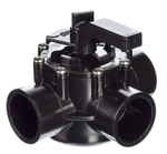 "Jandy Pro Series NeverLube 1.5"" Three-Way Diverter Valve"