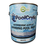 Poolcrylic Waterborne Pool Paint - White