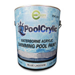 Poolcrylic Waterborne Pool Paint - Blue Lagoon - 1 Gallon