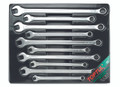 10 pcs Extra-Long Standard Combo Wrench Set 10-19mm(Satin Finish)