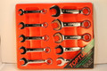 10 pcs Midget Dynamic Combo Wrench Set 10-19mm (Mirror Finish)
