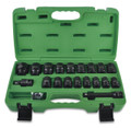 "27 Piece 1/2"" Flank Impact socket Set (Black Phosphate Finish)"