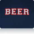 New England Patriots Beer T Shirt (Navy Silver Red)