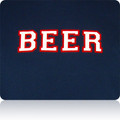Cleveland Indians Beer T Shirt (Navy White Red)