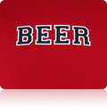 Houston Astros Beer T Shirt (Cardinal Black White)