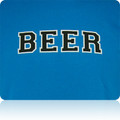 Carolina Panthers Beer T Shirt (Sapphire Black White)