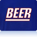 New York Giants Beer T Shirt (Premium)