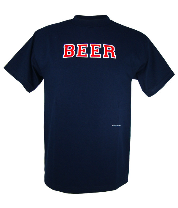 release date: ca598 1d48b Penn Quakers Beer T Shirt (Navy Red White)