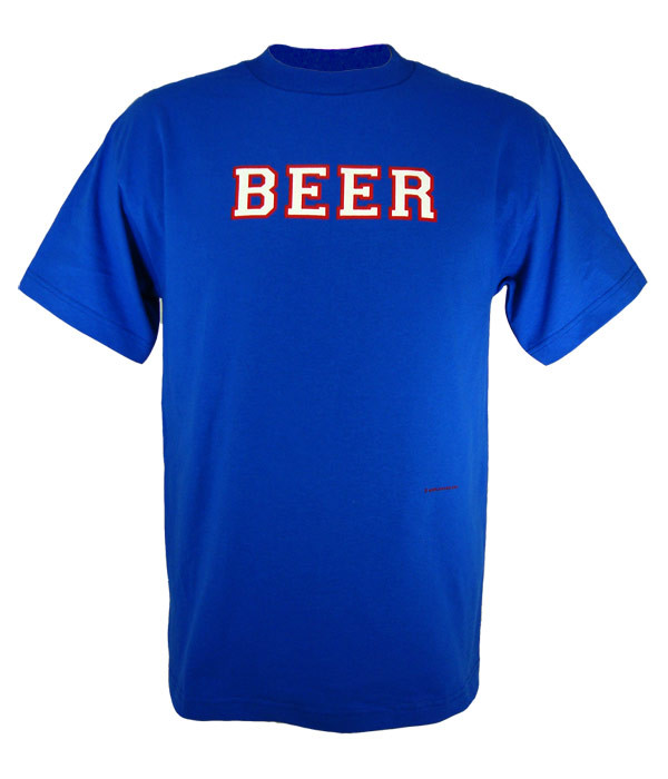 size 40 d7218 68f61 Montreal Canadiens Beer T Shirt (Royal White Red)