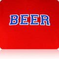 Texas Rangers Beer T Shirt (Red Royal White)