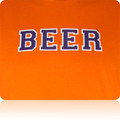 Hobart Statesmen Beer T Shirt (Orange Purple White)