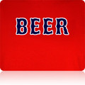 Boston Red Sox Beer T Shirt       (Premium Red)