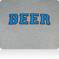 Carolina Panthers Beer T Shirt (Gray Tourquoise Black)