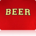 Tampa Bay Bucs Beer T Shirt (Cardinal LightGold Black)