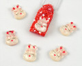 Cute Bunny Nail Art Decoration (Resin) - 5 PCS Per Set