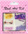 Nail Art Decorative Kit #3 - Who Likes Purple?