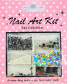 Nail Art Decorative Kit #4 - Disco Diva Silver