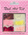 Nail Art Decorative Kit #5 - Pink & Pearl Sensations