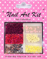Nail Art Decorative Kit #6 - Pretty Pink Celebrations
