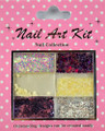 Nail Art Decorative Kit #9 - Purple Winter